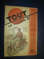 """Revue Bricolage -TOUT Le Système """"D"""" N 38 - Fév 1949 - Scooter - Livres, BD, Revues"""