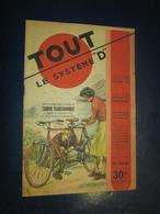"""Revue Bricolage -TOUT Le Système """"D"""" N 59 - Nov 1950 - Tandem Transformable - Livres, BD, Revues"""