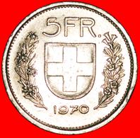 # WILLIAM TELL (1922-2018): SWITZERLAND ★ 5 FRANCS 1970! LOW START ★ NO RESERVE! - Svizzera