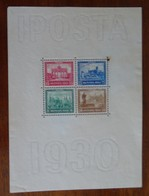 #FI21# GERMANY REICH MICHEL BL 1 UNUSED NO GUM, SOME PERFORATION SEPARATED, SEE PICTURES. - Deutschland
