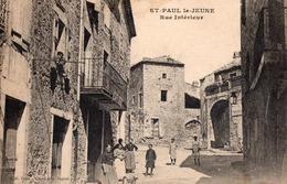 St Paul Le Jeune ; Rue Interieur - France