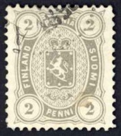 Finland Sc# 25 Used 1881-1883 2p Gray Definitive - Used Stamps