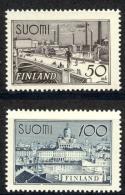 Finland Sc# 239-240 MH 1942 Scenes - Finland