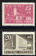 Finland Sc# 247-248 MH 1945 Buildings - Finland