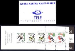 Finland Sc# 856a MNH Complete Booklet 1991-1999 Birds - Finlande