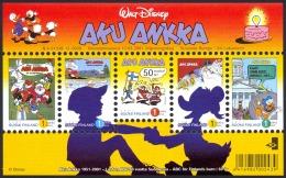 Finland Sc# 1150 MNH Souvenir Sheet 2001 Donald Duck - Finlande