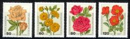 Germany Sc# B600-B603 MH 1982 50+20pf-120+60pf Flowers - [7] Federal Republic