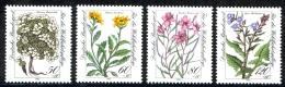 Germany Sc# B611-B614 MH 1983 50+20pf-120+60pf Flowers - [7] Federal Republic