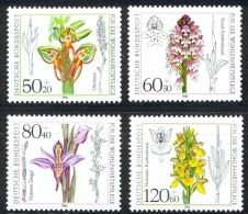 Germany Sc# B623-B626 MH 1984 50+20pf-120+60pf Flowers - [7] Federal Republic