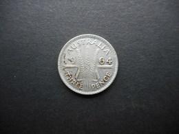 Australia 3 Pence 1964 Elizabeth II - Moneda Pre-decimale (1910-1965)