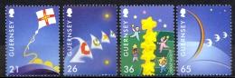 Guernsey Sc# 709-712 MNH 2000 Europa 2000 - Guernesey