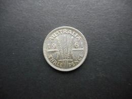 Australia 3 Pence 1961 Elizabeth II - Moneda Pre-decimale (1910-1965)