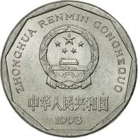 Monnaie, CHINA, PEOPLE'S REPUBLIC, Jiao, 1993, TTB, Aluminium, KM:335 - Chine