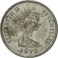 Monnaie, Seychelles, Cent, 1972, British Royal Mint, TTB, Aluminium, KM:17 - Seychelles