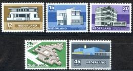 Netherlands Sc# B444-B448 MNH 1969 Contemporary Architecture - 1949-1980 (Juliana)