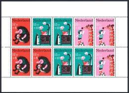 Netherlands Sc# B431a MNH Sheet/10 1967 Nursery Rhymes - 1949-1980 (Juliana)