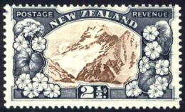 New Zealand Sc# 189 MH (a) 1935 2½p Mt. Cook - Unused Stamps