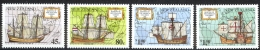 New Zealand Sc# 1089-1092 MNH 1992 Discovery Of America 500th - New Zealand