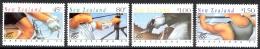New Zealand Sc# 1100-1103 MNH 1992 Olympics - Unused Stamps
