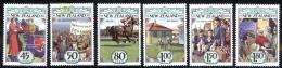 New Zealand Sc# 1145-1150 MNH 1993 The 1930's - New Zealand