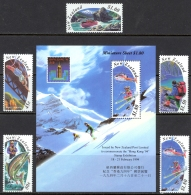 New Zealand Sc# 1192-1196a MNH 1994 Outdoor Sports - Unused Stamps