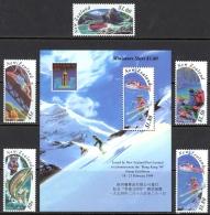 New Zealand Sc# 1192-1196a MNH 1994 Outdoor Sports - New Zealand