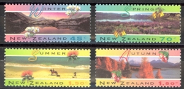 New Zealand Sc# 1205-1208 MNH 1994 Scenic Views - New Zealand