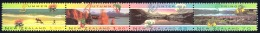 New Zealand Sc# 1208a MNH Strip/4 1994 Scenic Views - Unused Stamps