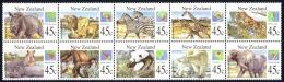 New Zealand Sc# 1236a MNH Block/10 1994 Wild Animals - Unused Stamps
