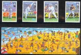 New Zealand Sc# 1244-1248 MNH 1994 Cricket - New Zealand
