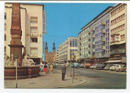 Mercedes Heckflosse,Opel Olympia Rekord,VW 1600 TL,Hanomag Transporter,Mainz,gelaufen 1976 - Voitures De Tourisme