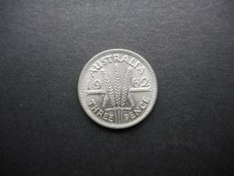 Australia 3 Pence 1962 Elizabeth II - Moneda Pre-decimale (1910-1965)