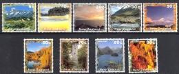 New Zealand Sc# 1345-1353, 1312 MNH 1996 Seashore - New Zealand