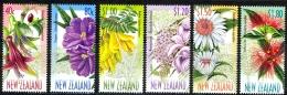 New Zealand Sc# 1563-1568 MNH 1999 Native Tree Flowers - New Zealand