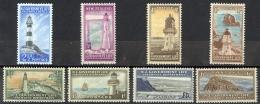 New Zealand Sc# OY29-OY36 MNH 1947-1965 Life Insurance - Service