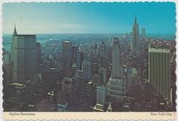 New York City - Skyline Panorama - Empire State Building