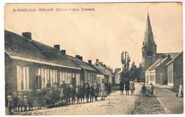 St. Rumoldus - Berlaer - Zicht Op 't Dorp  Zuidkant (Geanimeerd) - Berlaar