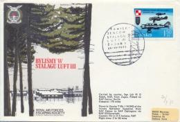 Poland 1973 RAF Escaping Society Flown Cover Bylismy W Stalagu Luft III - 2. Weltkrieg