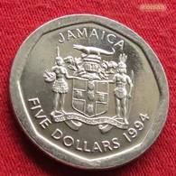 Jamaica 5 Dollars 1994 KM# 163 Jamaika Jamaique - Jamaica