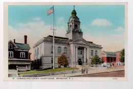 REF 346  : CPA U.S.A. Bridgeton New Jersey Cumberland County Court House - Etats-Unis