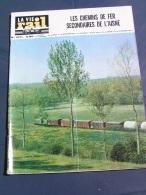 Vie Du Rail 1966 1071 ORIGNY SAINTE BENOITE MéZIERES SUR OISE SERY LUCY CAZOULS - Trenes
