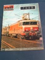 Vie Du Rail 1975 1482 GRYON BARBOLEUSAZ AIGLE SAINT TRIPHON BESANçON LE SEPEY - Trains