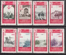 1952   EDIFIL Nº 361 / 368  /**/. Pro Tuberculosos, - Marruecos Español