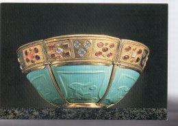REF 343 :  CPM Coupe En Verre Turquoise Le Trésor De Saint Marc De Venise Grand Palais Paris 1984 - Arts