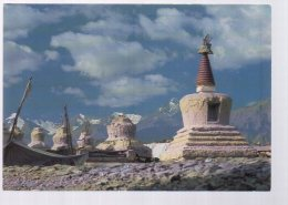 REF 343 :  CPM Tibet Chortens Au Ladakh - Tibet