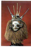 REF 345 :  CPSM 1973 Masque De Circoncis Yaca Congo Afrique Africain - Congo - Brazzaville