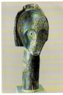 REF 345 :  CPSM 1974 Masque Reliquaire Culte Fang GABON Afrique Africain - Gabon