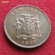Jamaica 1 Cent 1973 KM# 52 Jamaika Jamaique - Jamaica