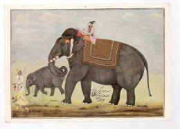 REF 331 :  CPM Elephant Inde Ecole Moghul - Éléphants