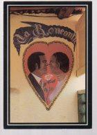 REF 334 :  CPM BENIN La Buvette La Rencontre Cotonou Jean Marie LERAT Mur Peint - Benin